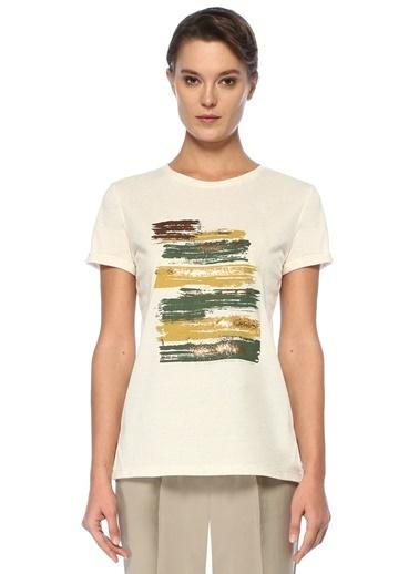 Que Tişört Bej